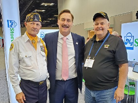 Paul Norton, Mike Lindell (the Pillow Guy) & Don Hawkins